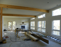Irvin residence construction pictures