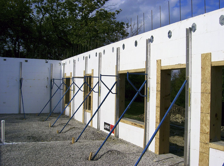 lovely insulated concrete forms construction #6: Click on the image to see a larger version